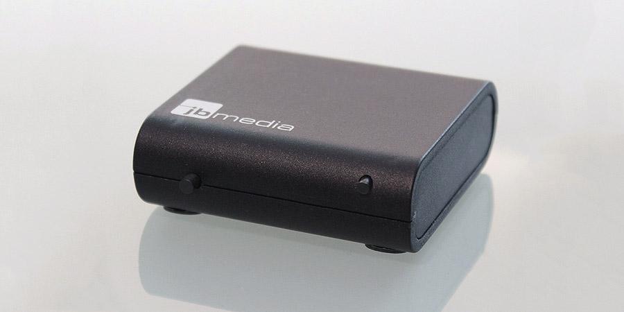 Das äußerst kompakte Gehäuse des Light-Manager Mini
