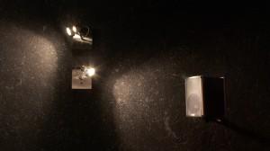 Baumwollputz mit Beleuchtung und Lautsprecher
