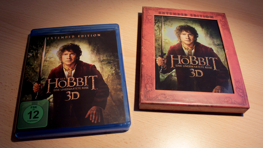 der hobbit eine unerwartete reise extended edition heimkino praxis. Black Bedroom Furniture Sets. Home Design Ideas