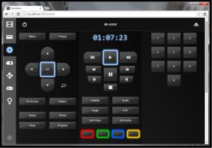 Eine Ansicht der App in einem gewöhnlichen Desktop-Browser