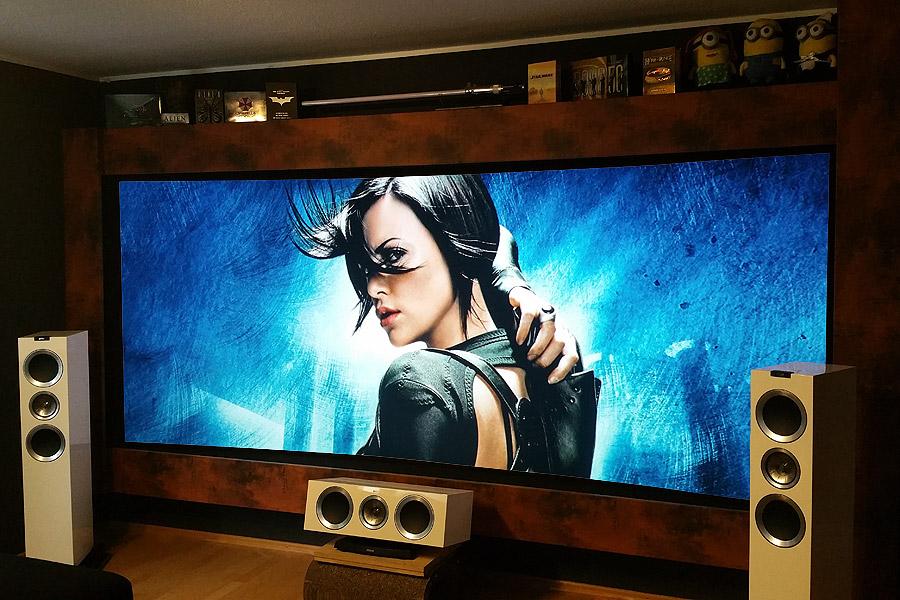 cinemascope projektion auf eine 21 9 leinwand heimkino praxis. Black Bedroom Furniture Sets. Home Design Ideas