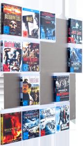 Die Blu-ray-Wall mit bis zu 20 Blu-rays