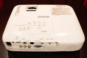 Epson EB-U04 Rückansicht von oben