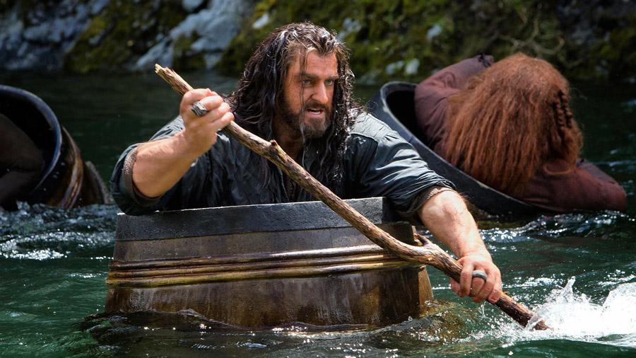 Der Hobbit – Fässer-Szene