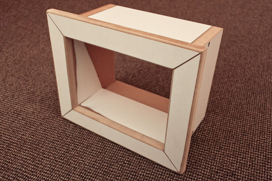 projektion von nebenan einen wanddurchlass bauen heimkino praxis. Black Bedroom Furniture Sets. Home Design Ideas