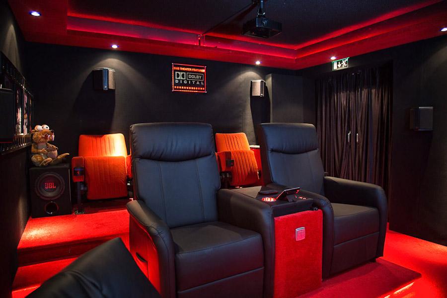 Der Kinoraum des Mayerplex