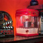 Popcornmaschine und Kaffeeautomat