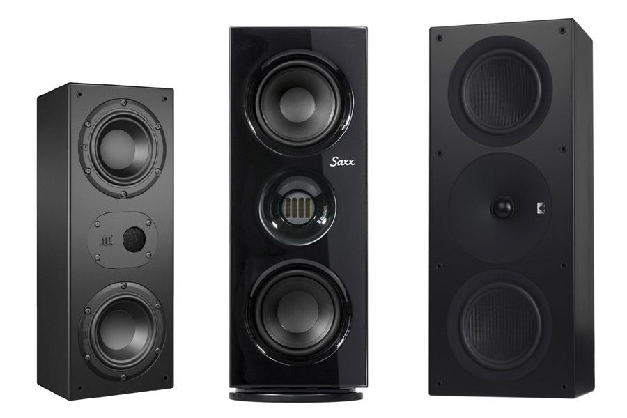 3 Lautsprecher im Test: Nubert NuLine WS-14, Saxx coolSOUND CX 25, XTZ Spirit 6