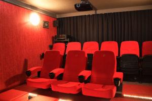 Blick nach hinten rechts im Time-Out Cinema