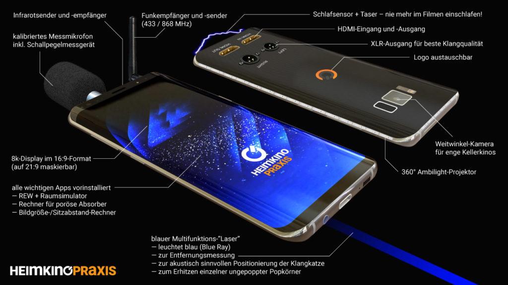 Alle wichtigen Features des unglaublichen Heimkino Praxis Phone!