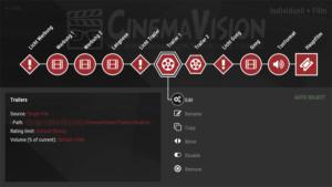 Der überarbeitete Editor von CinemaVision.
