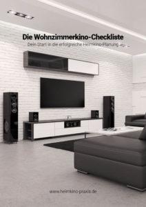 Titelseite: Die Wohnzimmerkino-Checkliste – Dein Start in die erfolgreiche Heimkino-Planung